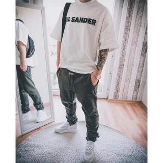 Jil Sander - JIL SANDER ジルサンダー オーバーサイズ ロゴ Tシャツ  sサイズ