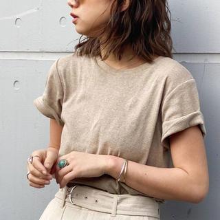 アングリッド(Ungrid)のUngrid オーガニックコットンtee(Tシャツ(半袖/袖なし))