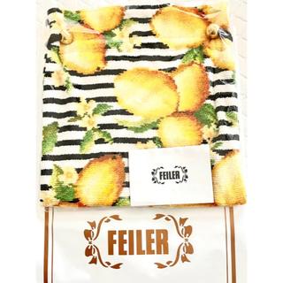 FEILER - FEILER ×Chesty コラボ レモンボーダーマリン ポーチ