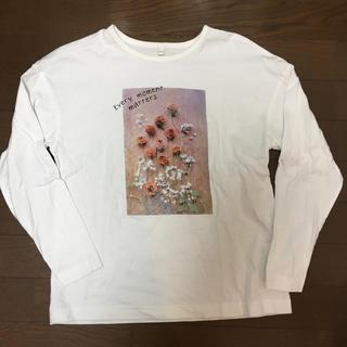 GU - GU 長袖Tシャツ150 ロンT カットソー