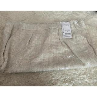 ミッシュマッシュ(MISCH MASCH)のミッシュマッシュ スカート ベージュ 白(ひざ丈スカート)
