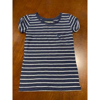 Abercrombie&Fitch - Abercrombie&Fitch Tシャツ ネイビーホワイト XS レディース