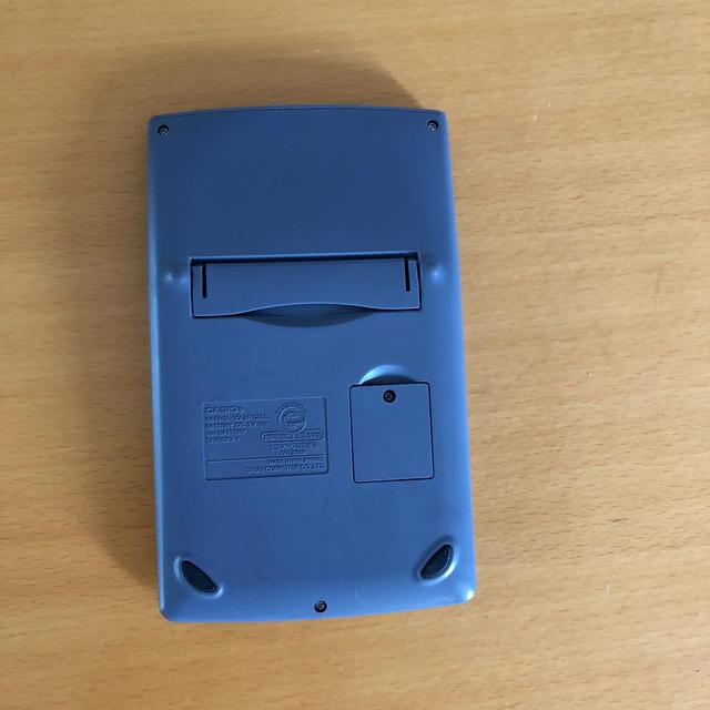 CASIO(カシオ)のCASIO電卓  インテリア/住まい/日用品のオフィス用品(オフィス用品一般)の商品写真
