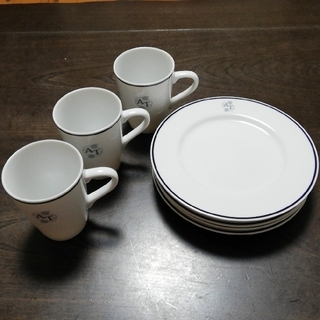 アフタヌーンティー(AfternoonTea)のアフタヌーンティー マグカップ3個&プレート5枚(食器)