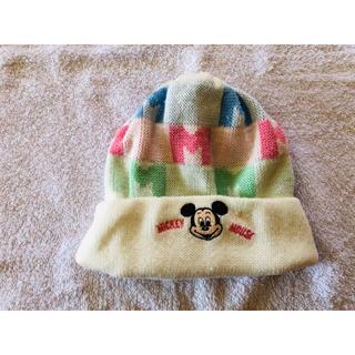 ディズニー(Disney)の🐭ミッキーマウス❄️ニット帽⛄️(ニット)