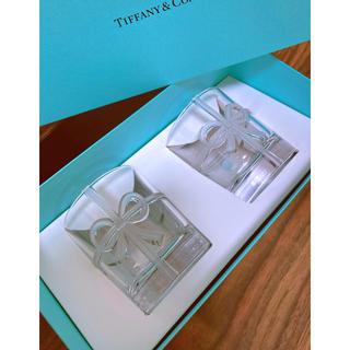 Tiffany & Co. - Tiffany& Co. リボン タンブラー ボウグラス 新品未使用