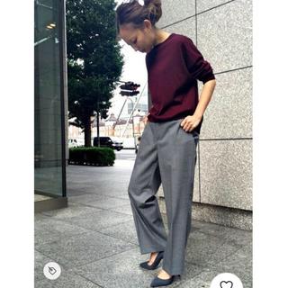 DEUXIEME CLASSE - 【美品】Deuxieme classe ウールパンツ サイズ36