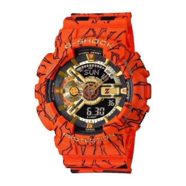 G-SHOCK(ジーショック)の【トミノ様専用】 G-SHOCK ドラゴンボールZ コラボレーションモデル メンズの時計(腕時計(アナログ))の商品写真