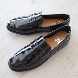 ホーキンス(HAWKINS)のきれいめローファー 黒(ローファー/革靴)