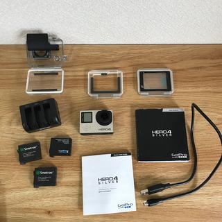 ゴープロ(GoPro)のgopro hero4 silver(コンパクトデジタルカメラ)