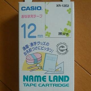 CASIO - CASIO/カシオ ネームランドおなまえテープ 12mm クローバー XR-12