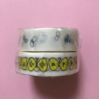 ミナペルホネン(mina perhonen)のmt  ミナペルホネン チョウチョ choucho マスキングテープ カモ井 (テープ/マスキングテープ)