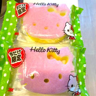 ハローキティ(ハローキティ)のスコッチブライト スポンジ 2個セット キティーちゃん(収納/キッチン雑貨)