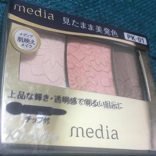 カネボウ(Kanebo)のメディア グラデカラーアイシャドウ PK-01 カネボウ(アイシャドウ)