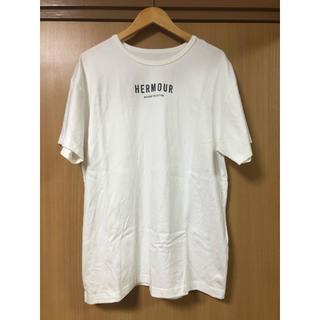 ナノユニバース(nano・universe)の【HERMOUR】フロントロゴTシャツ(Tシャツ/カットソー(半袖/袖なし))
