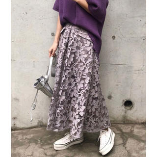 Ameri VINTAGE - アメリヴィンテージ  ANTHESIS LACE SKIRT