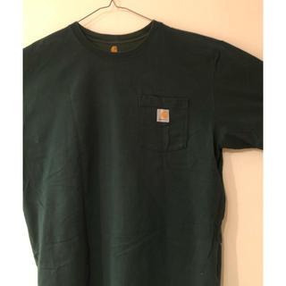 カーハート(carhartt)のカーハート Tシャツ L 緑 グリーン(Tシャツ/カットソー(半袖/袖なし))