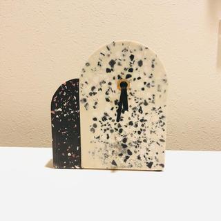 フランフラン(Francfranc)の新品 Francfranc フランフラン 大理石風 置き時計(置時計)