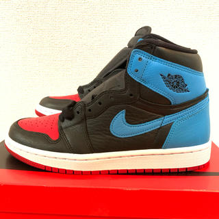 NIKE - 24cm NIKE AIR JORDAN 1 Chicago to Unc
