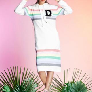 DOUBLE STANDARD CLOTHING - ダブルスタンダードクロージング ワンピース ストレッチニット新品