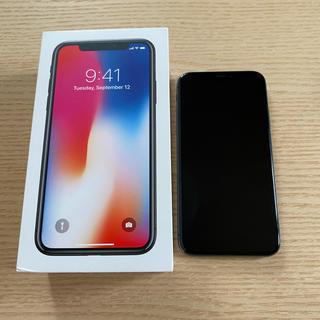 iPhone - iPhone X 64 GB 本体のみ SIMロック解除済み