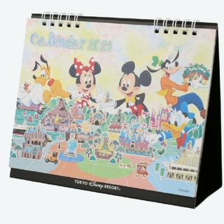 Disney - ディズニーリゾート カレンダー  卓上2021