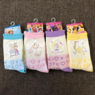 Disney - ディズニープリンセス靴下4足セット