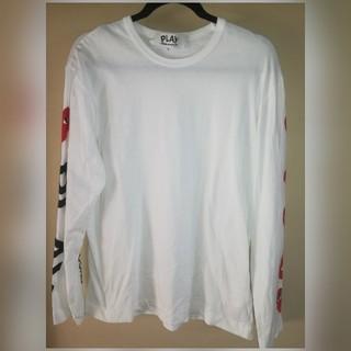 コムデギャルソン(COMME des GARCONS)のPLAY COMME des GARÇONS ロンT(Tシャツ/カットソー(七分/長袖))