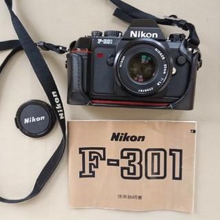 ニコン F-301 パンケーキレンズ付