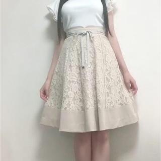 ミッシュマッシュ(MISCH MASCH)の大人気♡リバーシブルレーススカート(ひざ丈スカート)