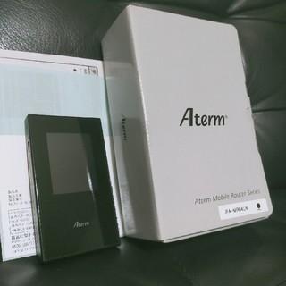 エヌイーシー(NEC)のAterm MR04LNルーター(PC周辺機器)