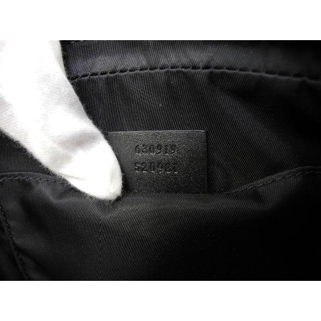 Gucci(グッチ)のグッチ ベルトバッグ ウェブ ナイロン黒 ボディバッグ ウエストバッグ 新品@4 メンズのバッグ(ボディーバッグ)の商品写真