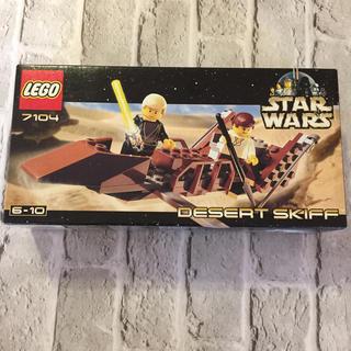 Lego - 激レア レゴ デザートスキッフ スターウォーズ 7104