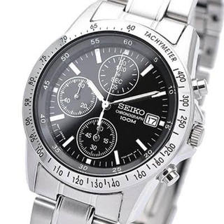 SEIKO - 新品 未使用 セイコー SEIKO クロノグラフ メンズ腕時計 SND367P1