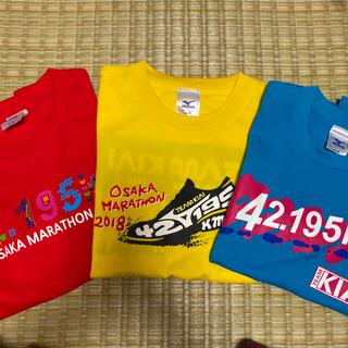 ミズノ(MIZUNO)のコブクロ 大阪マラソンTシャツ  未使用(ミュージシャン)