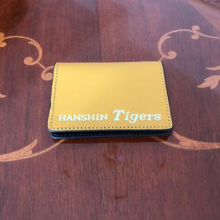 ハンシンタイガース(阪神タイガース)のタイガース カードケース(名刺入れ/定期入れ)