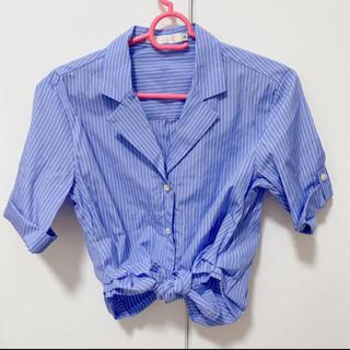 ココディール(COCO DEAL)のcocodeal ストライプシャツ(シャツ/ブラウス(半袖/袖なし))