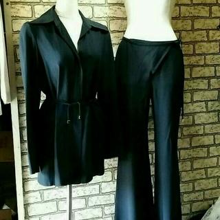 グッチ(Gucci)のGUCCIロングジャケットパンツスーツ(スーツ)
