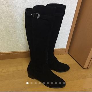 ギンザカネマツ(GINZA Kanematsu)のロングブーツ ブラック(ブーツ)