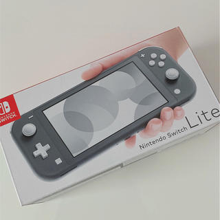 Nintendo Switch - 任天堂 Switch lite グレー 美品
