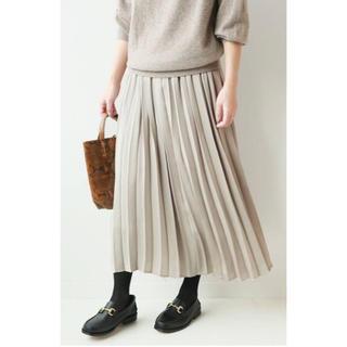 ジャーナルスタンダード(JOURNAL STANDARD)のサテンプリーツスカート(ロングスカート)