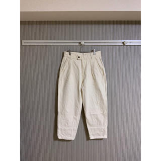 1LDK SELECT - URU COTTON HEAVY DRILL 1 TUCK PANTS 2