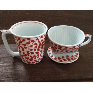 カリタ(CARITA)の祥玉 コーヒー ドリッパー カリタ マグカップ(グラス/カップ)