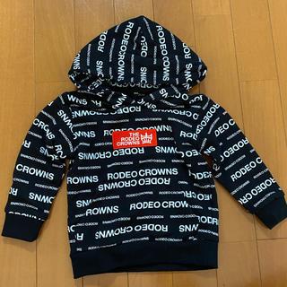 ロデオクラウンズワイドボウル(RODEO CROWNS WIDE BOWL)のロデオクラウンズ  90 ロゴ柄パーカー(Tシャツ/カットソー)
