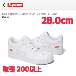 Supreme - Supreme Nike Air Force 1 Low White 28cm