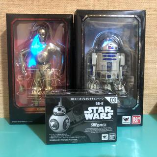 バンダイ(BANDAI)のS.H.Figuarts R2-D2& C3PO&BB8(SF/ファンタジー/ホラー)