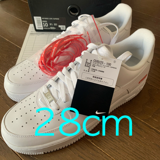 NIKE - Supreme NIKE AIR FORCE 1 LOW US10 28cm