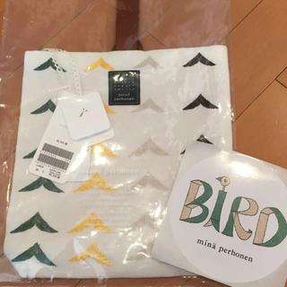 mina perhonen - 新品タグ付き★完売品★ミナペルホネン★伊勢丹★ puisto bird bird