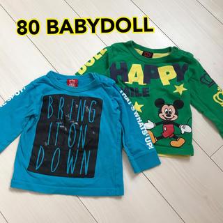 ベビードール(BABYDOLL)の80☆ベビードールロンT☆長袖(Tシャツ)