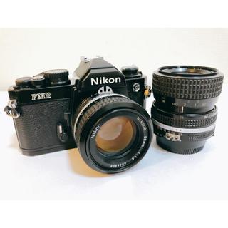 Nikon new FM2  レンズ50mm f1.4他